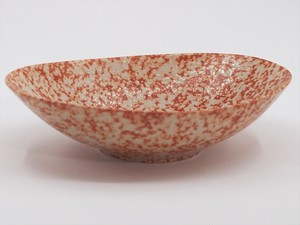 sino・nome/oval bowl-orange