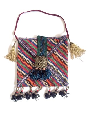 Tajik vintage bag no.142