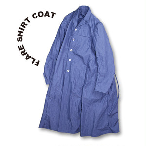 Flare shirt coat [lavender]