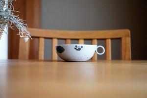 砥部焼/手付き小鉢/木の葉/森陶房