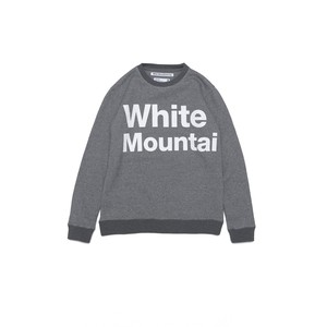 LOGO PRINTED SWEATSHIRT - CHARCOAL