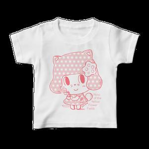 「菜の花畑のニーノ」ニーノのキッズTシャツ