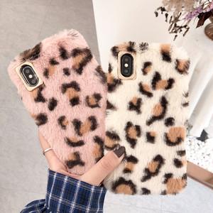 【小物】iPhone用ヒョウ柄ファッションスマホケース・カバー
