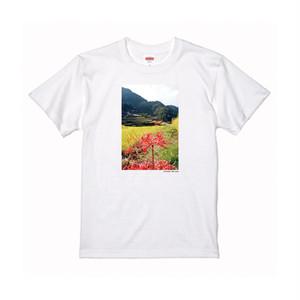 【寄付対象】【CHIKUGO百景】つづら棚田Tシャツ(送料無料)