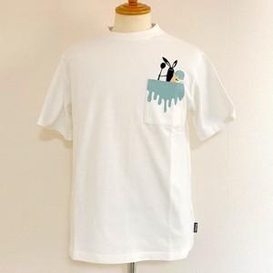 Shabby 「Pocket Ice」 T-shirts Off White