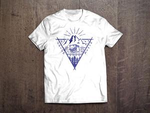 [受注生産] 北海道遠征 Tシャツ(白)