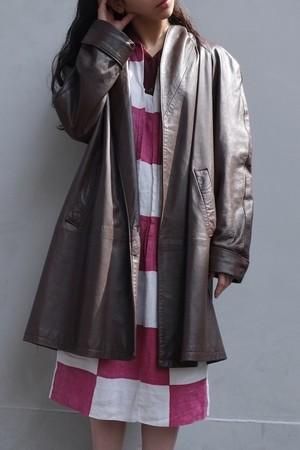 tsuki kage leather jacket.