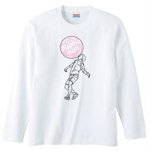 [ロングスリーブTシャツ] Bubble gum 2