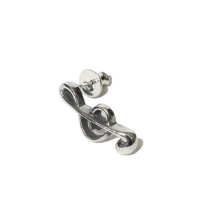 ONPU PIERCE - TREBLE CLEF (SILVER) / RUDE GALLERY