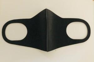 【即納可能】洗える ウレタン マスク レギュラーサイズ3枚入り ブラック
