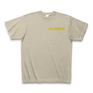 〔incident〕Tシャツ