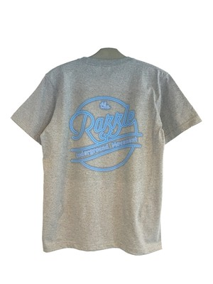 RAZZLE/Circle LOGO POCKET SS TEE/GREY