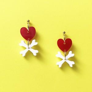 HEART BONES-red / c-hb001rd