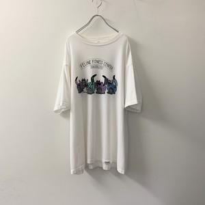 crazy shirt プリントTシャツ ホワイト size XL USA製 メンズ 古着