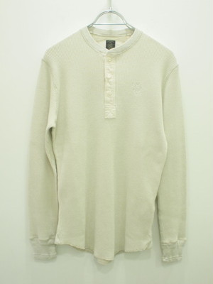 The Stylist Japan HENLEY NECL LS TEE / TSJC-78201-21