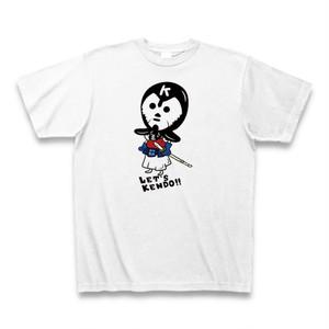 レッツケンドーマスクマン七変化Tシャツ【もうすぐ変身赤胴version】