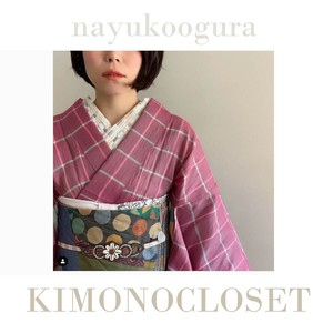 ★お知らせ★石畳の半襟はKIMONOCLOSETにて扱っております。