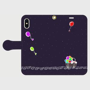 銀河鉄道 iPhone用手帳型ケース