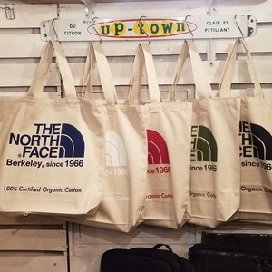 THE NORTH FACE ノースフェイス NEW TNF ORGANIC COTTON TOTE