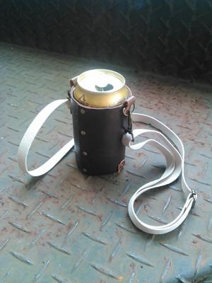 革製サーモス缶クーラーホルダー