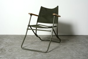 BRITISH ARMY LAND ROVER CHAIR  (3)