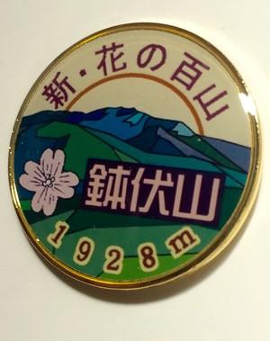 鉢伏山 バッジ