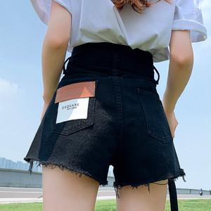 【ボトムス】人気 ファッション ショート丈 切り替え カジュアル ショートパンツ44968314