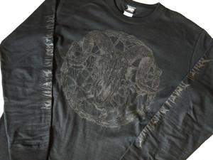 Inversion of Christ Long Sleeve Black×Black
