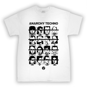 ANARCHY TECHNO / T-SHIRT - 002