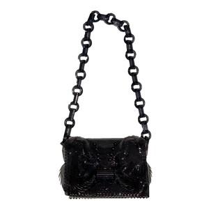 MAME KUROGOUCHI Pvc Chain Bag Black