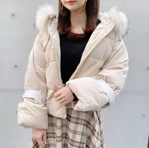 Candy sleeve eco downcoat