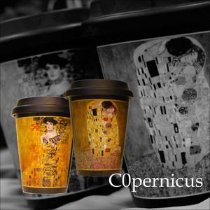 アデーレブロッホ OR 接吻 クリムト【artマグカップ】   浜松雑貨屋C0pernicusトラベラーズマグ