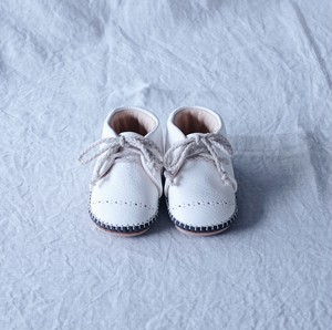 Baby Shoes / White ※受注生産:納期2週間