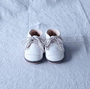 Baby Shoes / White ※受注生産:納期2週間
