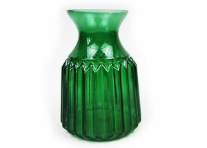 フラワーベース 緑のガラスの花瓶 ベルデ・ボトルベース CV-HD-63-1902