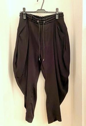 Drape Easy Trousers Black