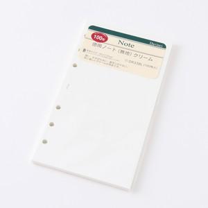 ダ・ヴィンチ リフィル 徳用ノート(無地) バイブルサイズ トモエリバー 52g/m2 100枚