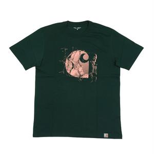 Carhartt/カーハート BROKEN GLASS プリント Tシャツ i026427