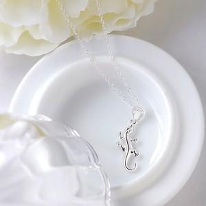 トカゲの純銀ネックレス[シルバー925]