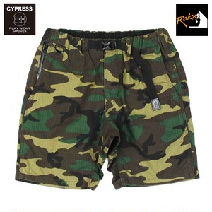 "CYPRESS ""SYRMA"" PLAY SHORT PANTS with ROKX / WOODLAND"