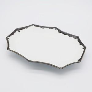 変形長皿M【WHITE】