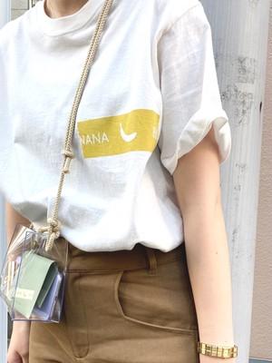 イエロー/パッキングテープ Tシャツ