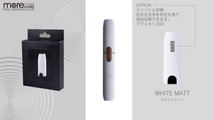 iQOS専用 高品質キャップ ホワイトマット