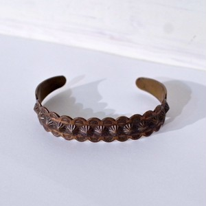 """Vintage """"BELL TRADING"""" indian Copper Bangle / ヴィンテージ カッパー バングル ベル"""