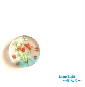 オルゴナイト プレート型 (金魚  小)