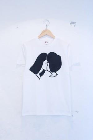 """idetatsuhiro """"きすT-shirt"""""""