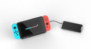 Nintendo Switch用10,000mAhリチウムイオンバッテリー付きケースカバー