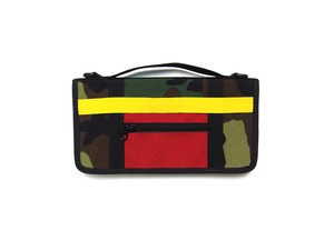 TRAVEL PASS CASE M116010 CAMO