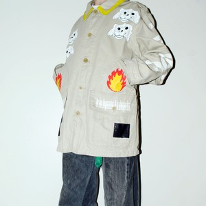 『TARZANKICK!!!』 1off customized Timberland Jacket