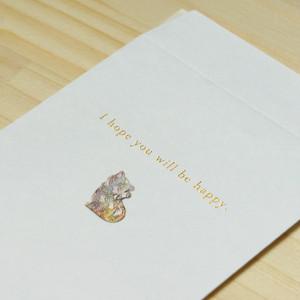 【ネコ】ハッピーモチーフ金封 KHM09-2